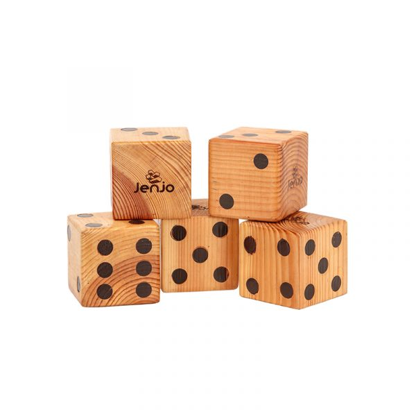 Giant Wooden Dice – 2 Web