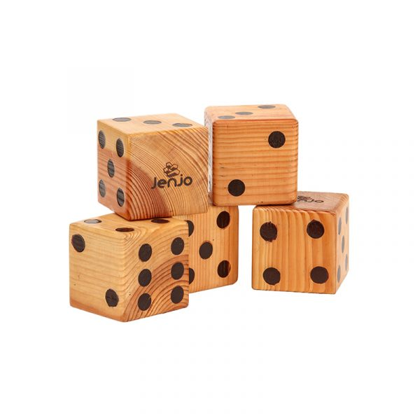 Giant Wooden Dice – 3 Web