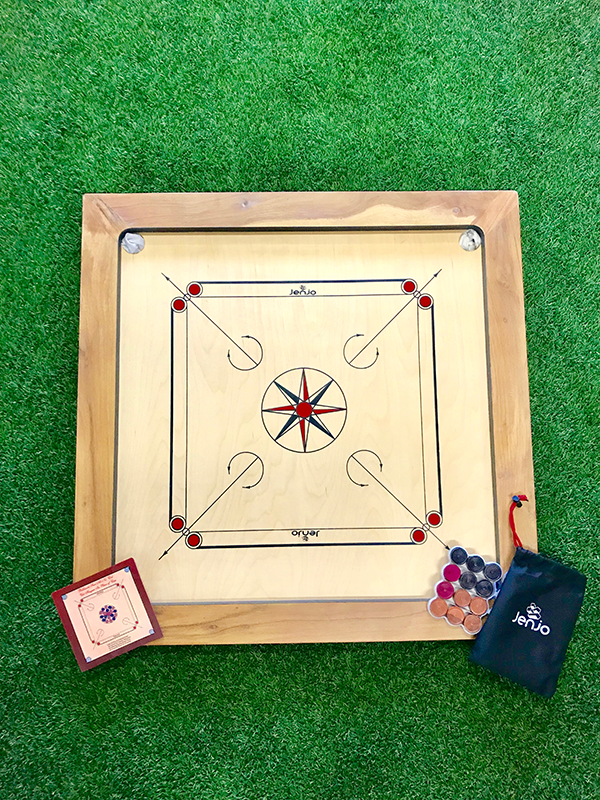 Carrom Championship Set Jenjo Games – 2