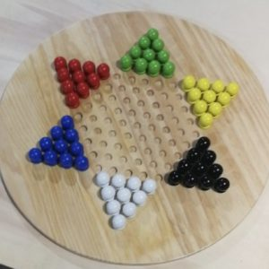 Giant Solitaire Chinese Checkers