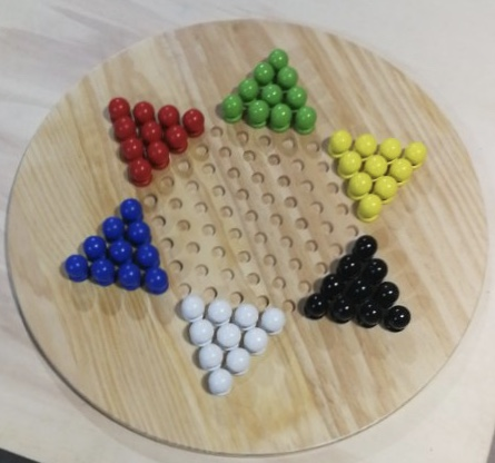 Giant Solitaire – Chinese Checkers