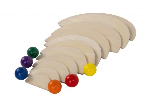 Natural Semi Circles an Rainbow Balls (3)