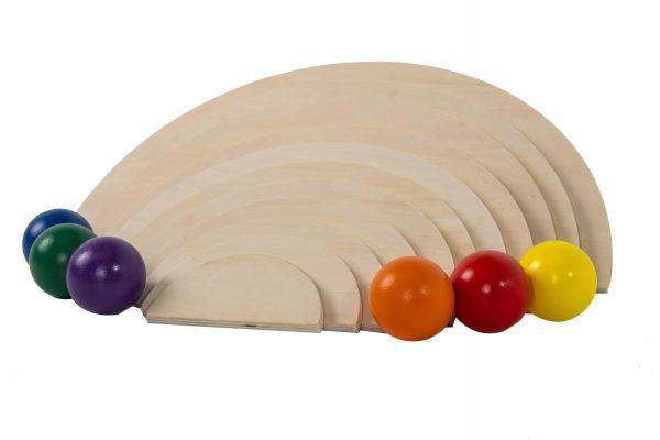 Natural Semi Circles an Rainbow Balls (4)