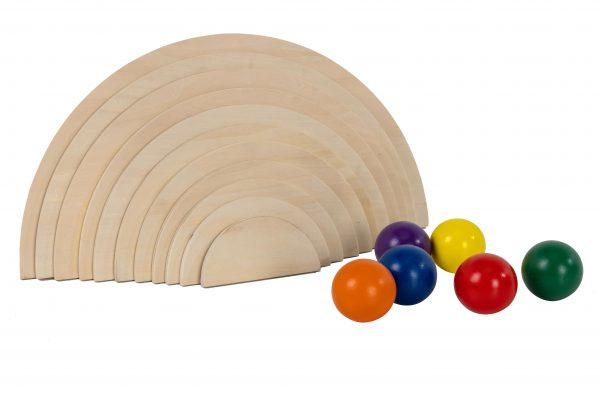 Natural Semi Circles an Rainbow Balls (7)