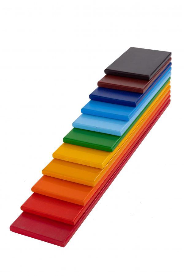 Rainbow Wooden Planks (1)