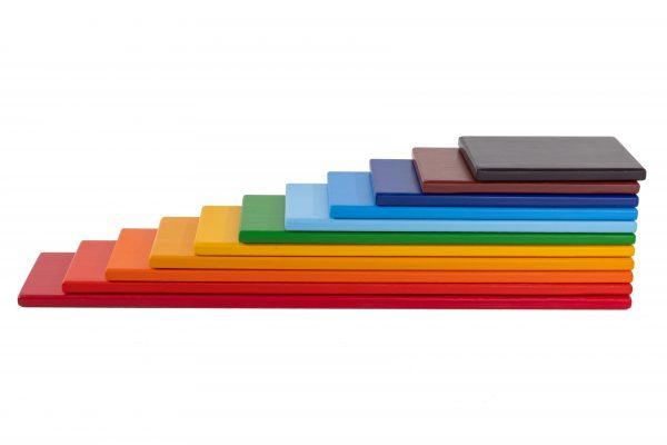 Rainbow Wooden Planks (2)