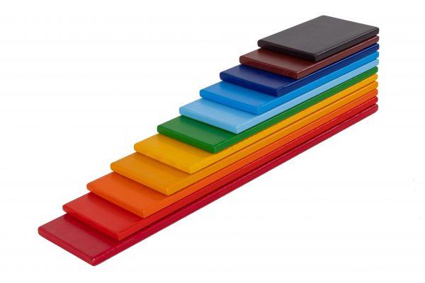 Rainbow Wooden Planks (3)